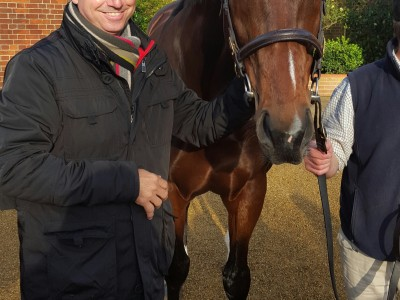 Meeting the legendary Frankel