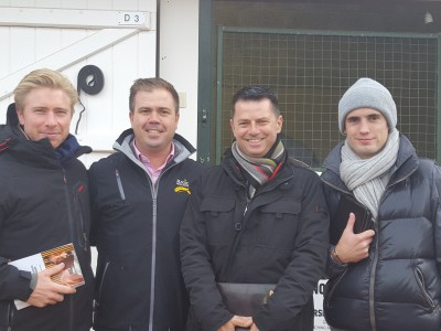 Louis LeMetayer, Clint Donovan, DG & Arthur Hoyeau at ARQANA