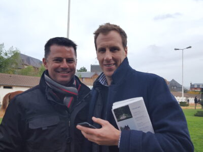 DG with Arrowfield's Andy Williams in Deauville