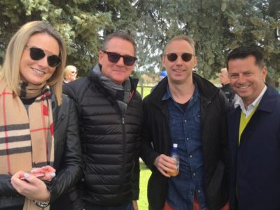 Swettenham stallion parade with Graham Begg