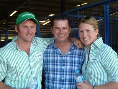 Sales success with Dave & Rhiannon from Armidale Stud