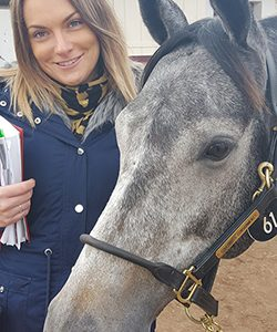 Sally with 2015 Arqana purchase Dispel