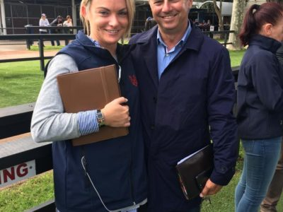 DG & SW last day at Inglis Newmarket